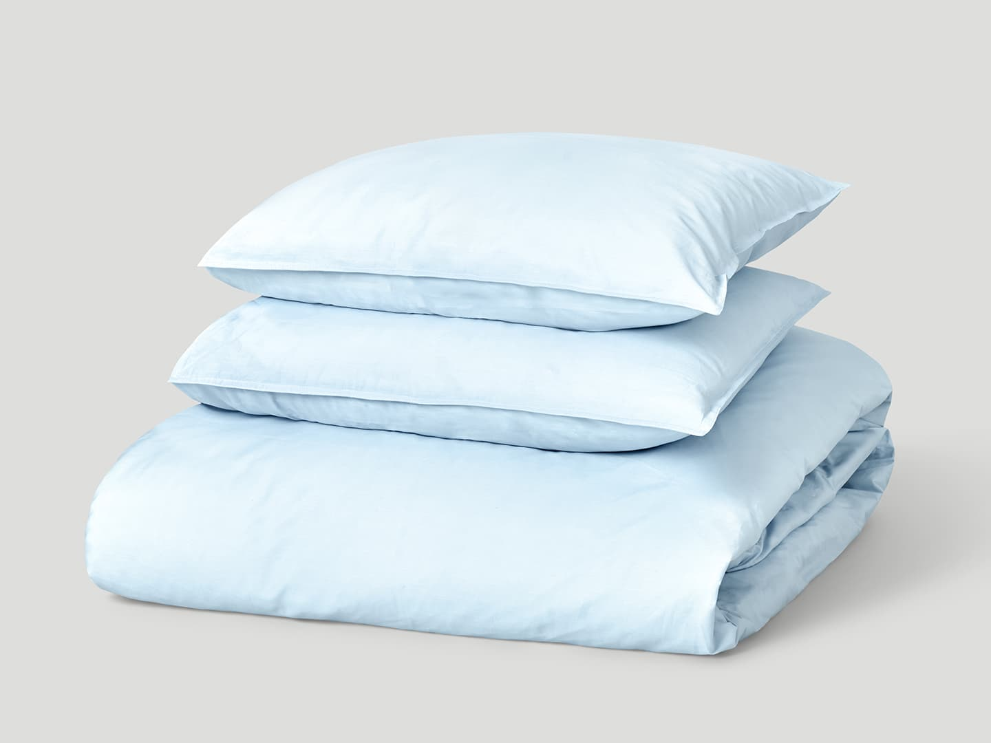 Påslakanset Nejd Percale - Ice Blue