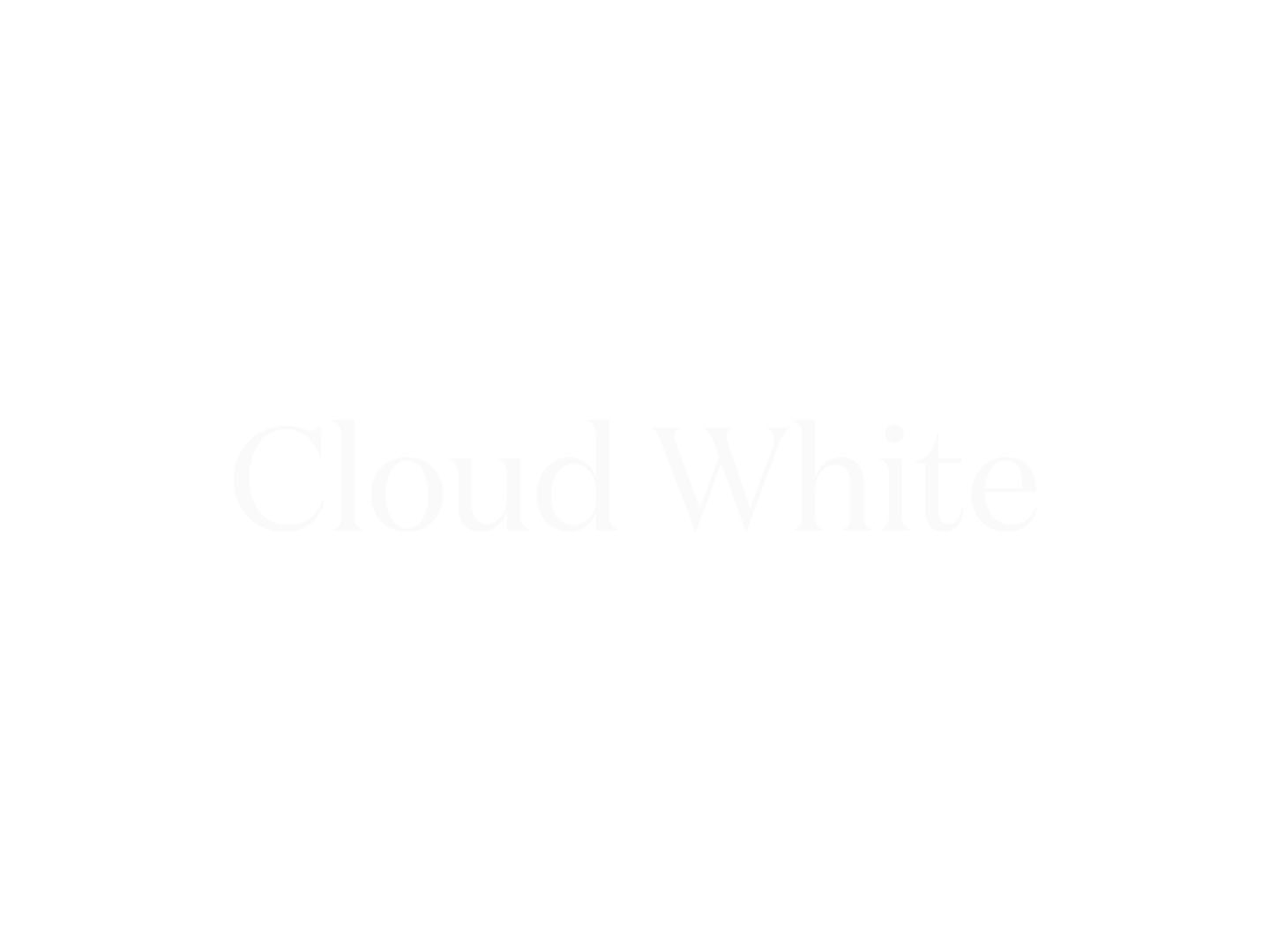 Underlakan Lind - Cloud White
