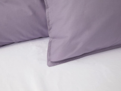 Påslakanset Nejd Percale - Dusty Lilac