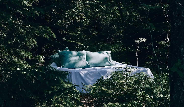 Bettwäsche aus Bio-Baumwolle in Spitzenqualität, den Menschen und der Umwelt zuliebe.
